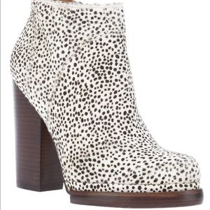 Jeffrey Campbell spotted Pony Hair Loza Booties